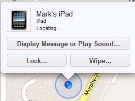 find my ipad